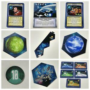 Star Trek Catan     Spare Replacement Game Pieces  Tiles Cards