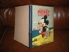 MICKEY VOYAGE - EDITION ORIGINALE HACHETTE 1948