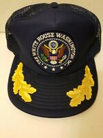 Vintage The White House Seal Patch Adjustable Snapback Hat Baseball Cap