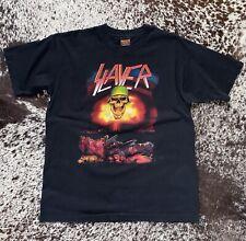 Vintage Slayer 1992 European Tour Single Stitch Shirt
