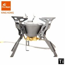 Fire Maple Titanium Ultralight Foldable Gas Burner for Outdoor Camping
