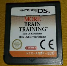 MORE BRAIN TRAINING - Nintendo DS - NDS - Game Gioco 3DS 3 2 DS XL Lite
