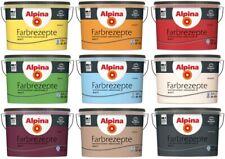 Alpina Farbrezepte bunte Wandfarbe 2,5 L hochdeckend atmungsaktiv, Farbwahl Matt