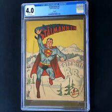 Stalmannen #1 (1952) - SWEDISH SUPERMAN 1 💥 CGC 4.0 💥 ONLY 2 in CENSUS! Comic