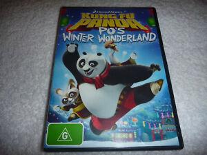 Kung Fu Panda - Po's Winter Wonderland - VGC - DVD - R4