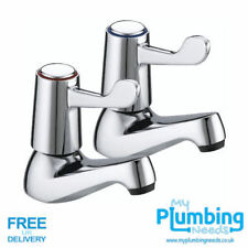 Bristan Value Club Lever Basin Taps VAL 1/2 C CD