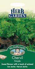Mr Fothergills - Pictorial Packet - Herb - Chervil Simple - 1000 Seeds