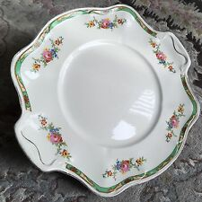 Antique Johnson Brothers Pareek Pattern Connaught Square Handle China Cake Plate