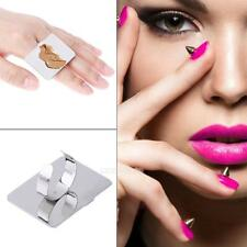 Colour Makeup Palette Portable Stainless Steel Small Square Mini Makeup Ring