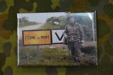 Aimant Magnet Frigo Panneau Magnétique WW2 Saint Come du Mont Normandie soldat
