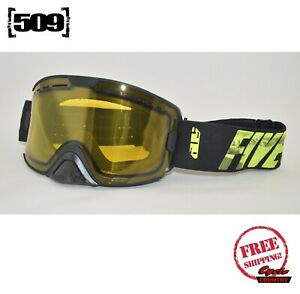 509 KINGPIN SNOWMOBILE GOGGLES MOUNTAIN VIS POLARIZED YELLOW LENS SNOW BOARD SKI