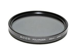86mm Alto Qualità Kood Lineare Filtro Polarizzante Fatto IN Giappone