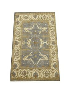 8X10 Gray Oushak Hand-Knotted Wool Rug Oriental Carpet (8.2 x 10.1)