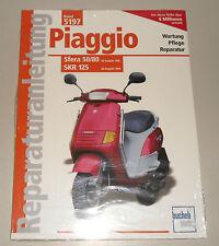 Reparaturanleitung Piaggio Sfera 50 / 80 + SKR 125 – ab Baujahr 1992