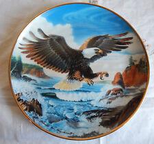 "Forever Free, Bald Eagle, Franklin Mint 8"" Plate"