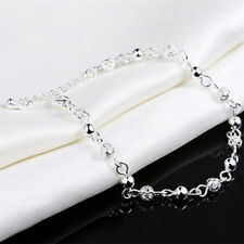 Fashion Women Silver Bead Ankle Chain Bracelet Anklet Foot Jewelry Sandal Beach