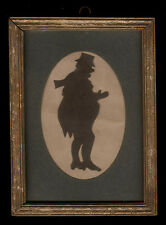 Mid 19th Century Hand-Cut Silhouette Dicken's Character, Mr Dorrance James Berry
