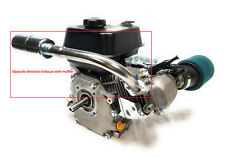 Opposite direction Exhaust for: Predator 212cc,Honda Gx160, Gx200, DuroMax 7 Hp