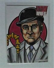 The Avengers Complete Series Trading Cards 1:1 Steed Sketch Card & PROMOS