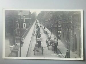 May day Procession Bedford Sweetland Postcard Early Horse Cart