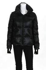 SAM. Womens Zip Up Puffer Jacket Black Size Small