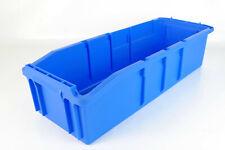 10x Schäfer SSI Regalkasten Regalbox Sichtlagerbehälter 480x180x120 Lagerbox Box