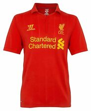 WARRIOR WSTM200HRD LIVERPOOL FC 12-13 HOME JERSEY SIZE LARGE