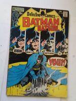 DETECTIVE COMICS feb #408 1971 BATMAN & BATGIRL NEAL ADAMS DC robin comic book !