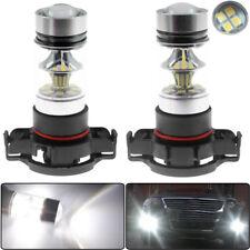 2Pack 2504 PSX24W 6000K White 100W LED Headlight Bulbs Fog Light DRL US Shipping