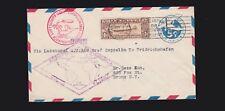 US C14 $1.30 Graf Zeppelin on Flown Entire to Bronx, New York VF SCV $900