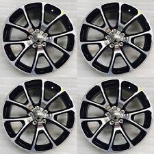 18x7.5 FIAT 500X CROMA TORO VIAGGIO OEM Wheels Rims Black Set of 4 Accessory