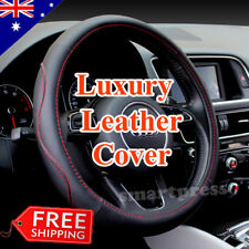 Luxury Sporty Auto Car Steering Wheel Cover with PU Leather Universal Car Cover