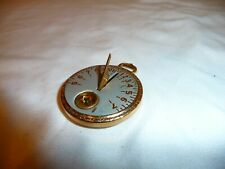 New ListingAntique Sundial 1920s Robbins Co. Pocket Sun Dial Watch Compass Yellowstone Logo