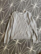 Cremieux Sweater. Womens Medium. Acrylic/ nylon/ wool/ Angora. Gray. Preppy Hip