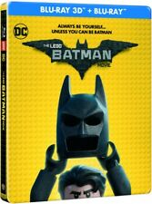 Lego Batman Film 2Blu Ray 3D Steelbook Chris McKay