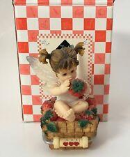 Little Kitchen Fairie Little Berry Fairie Strawberries 103261 Enesco 2001 AS-IS