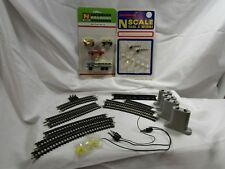 **22+ LOT** N scale/gauge BACKMAN 7019 & 7004, TRIX & ATLAS Tracks VINTAGE