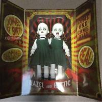 LIVING DEAD DOLLS BABY GOTHIC HORROR HAZEL & HATTIE RESURRECTION NEW IN BOX