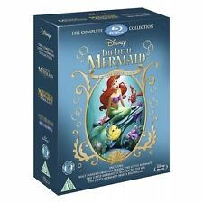 The Little Mermaid Trilogy (Blu-ray, 2013, Box Set)