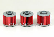 1981 YAMAHA XV920 XV920RH XV 920 ***3 PACK*** OIL FILTER