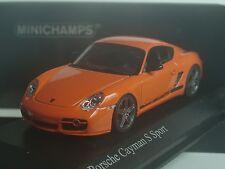 Minichamps Porsche Cayman S Sport (987), orange - 400 065625 - 1:43