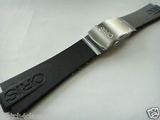 Oris Rubber Band strap bracelet TT1 42434 & s/s buckle clasp Diver or Carlos C