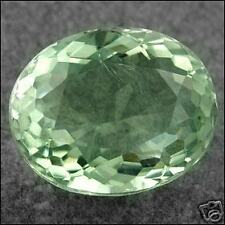 9,04 ct  Green Amethyst - Cushion Port. cut - VS Brazil