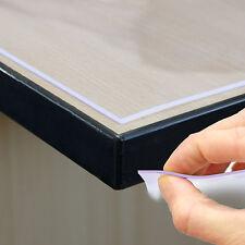 120cm Breite Tischdecke Tischfolie Schutzfolie Tischschutz Folie 2mm transparent
