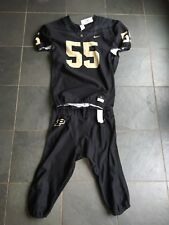 Authentic NIKE Purdue Boilermakers #55 Football On Field Jersey & Pants LARGE
