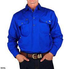 Ringers Western King River Half Button Shirt - RRP 49.99 - FREE POST
