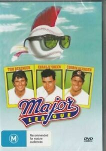 Major League DVD Charlie Sheen New and Sealed Australian Release