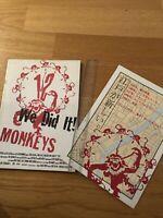 TWELVE MONKEYS 12 Japanese RARE Film Souvenir PROGRAMME & FLYER POSTER Brad PITT
