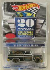 Hot Wheels 20th Nationals/Convention DINNER '64 GMC Panel Truck w/Sticker /4000