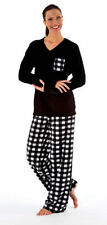 Polyester Checked Pyjama Sets for Women